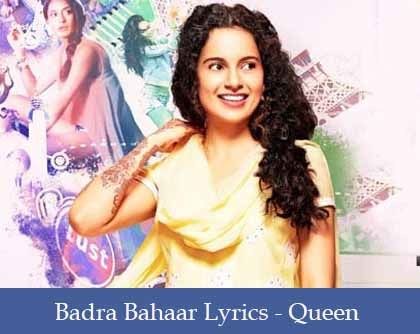 Badra Bahaar Lyrics