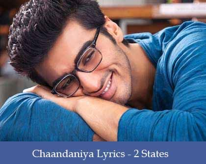 Chaandaniya Lyrics