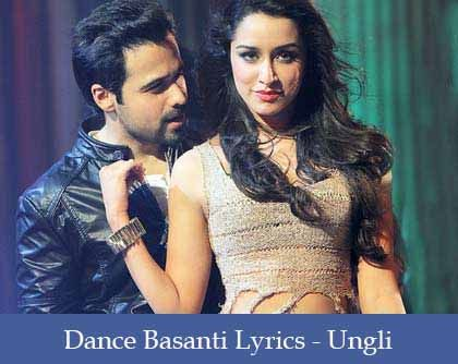 Dance Basanti Lyrics