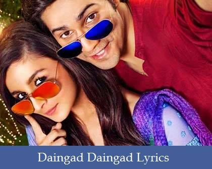 Daingad Daingad Lyrics