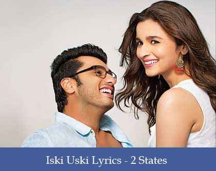 Iski Uski Lyrics