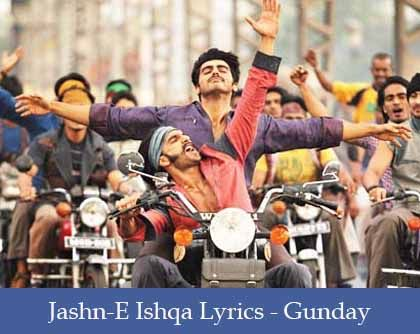 Jashn-e-Ishqa Lyrics