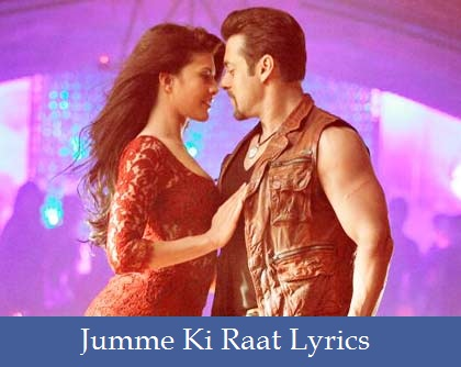 Jumme Ki Raat Lyrics