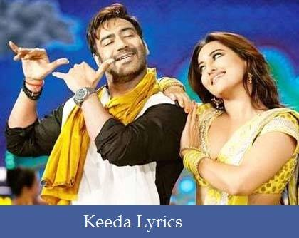 Keeda Lyrics