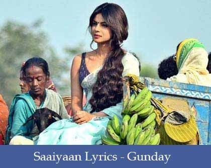 Saaiyaan Lyrics