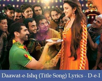 Daawat-e-Ishq Lyrics