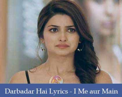 Darbadar Lyrics