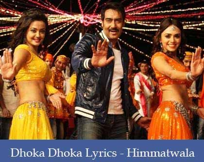 Dhoka Dhoka Lyrics