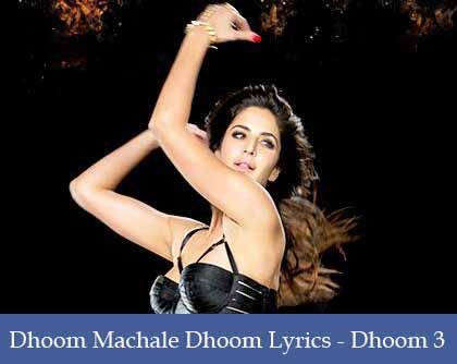 Dhoom Machale Dhoom Lyrics