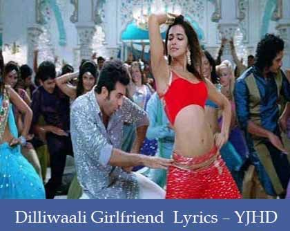 Dilliwali Girlfriend Lyrics