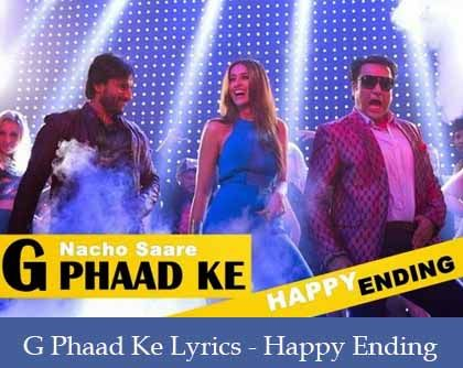 G Phaad Ke Lyrics