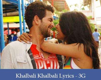 Khalbali Lyrics