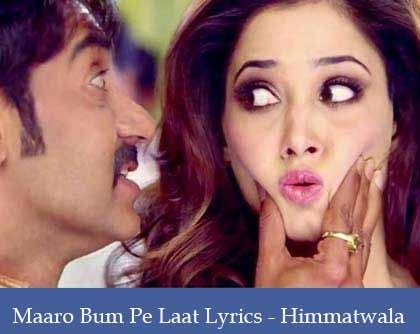 Bum Pe Laat Lyrics
