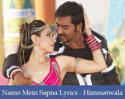 Naino Mein Sapna Lyrics