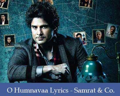 O Humnavaa Lyrics