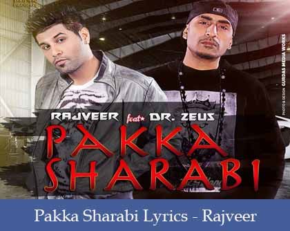Pakka Sharabi Lyrics