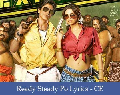 Ready Steady Po Lyrics