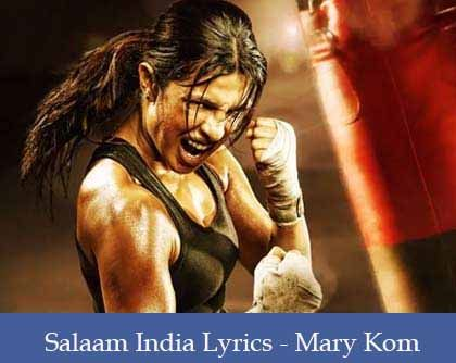Salaam India Lyrics