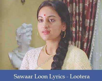 Sawaar Loon Lyrics