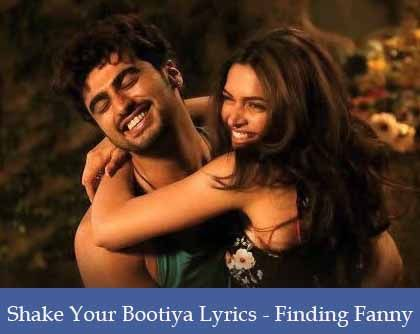 Shake Your Bootiya Lyrics