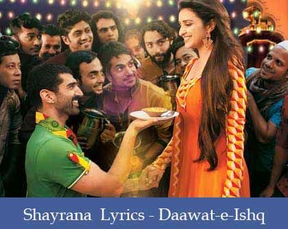Shayrana Lyrics