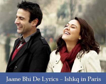 Jaane Bhi De Lyrics