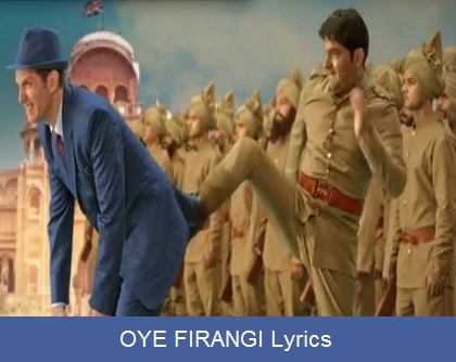 OYE Firangi Lyrics