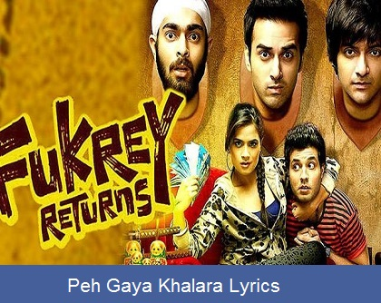 Peh Gaya Khalara Lyrics