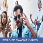 SWAG SE SWAGAT LYRICS