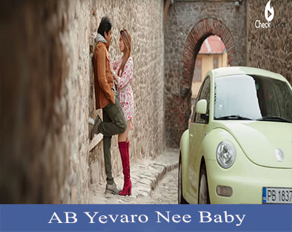 AB Yevaro Nee Baby Song Lyrics