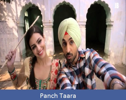 Panch Taara Lyrics | Diljit Dosanjh