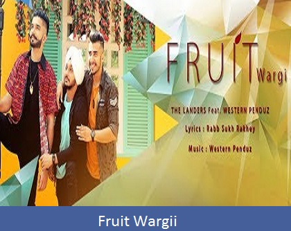 Fruit Wargii Lyrics