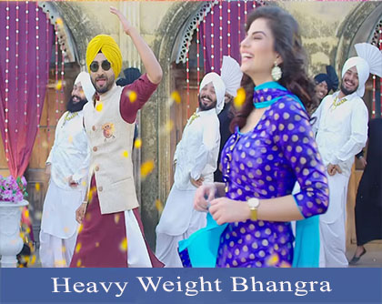 Heavy Weight Bhanghra lyrics punjabi song