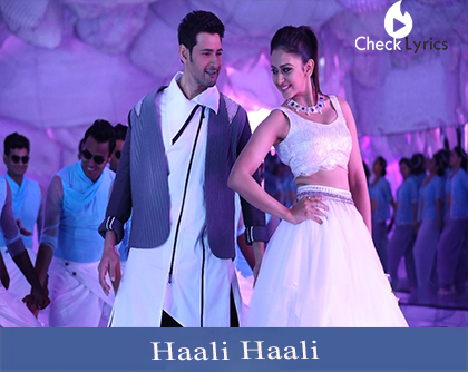 Haali Haali Song Lyrics