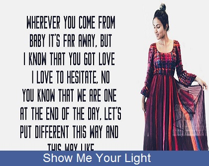 Show Me Your Light Song Lyrics - Vidya Vox