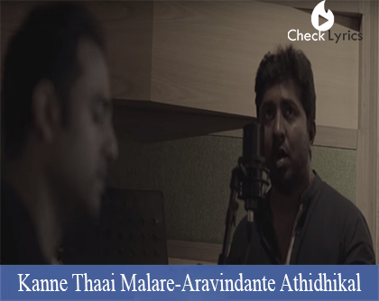 Kanne Thaai Malare Lyrics | Vineeth Sreenivasan
