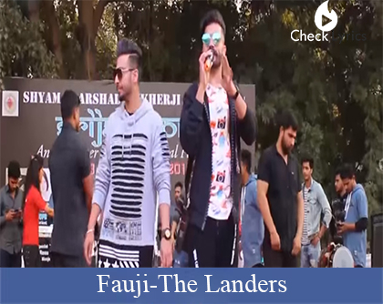 Fauji Lyrics | The Landers | Western Penduz