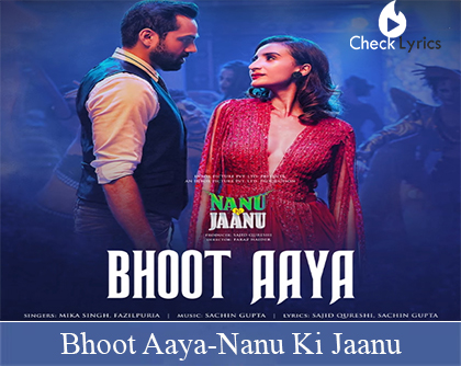 Bhoot Aaya Lyrics