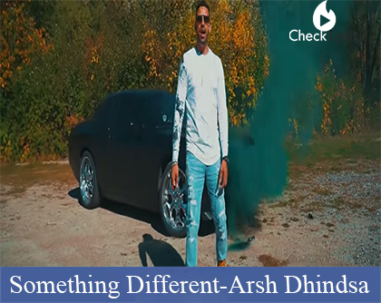 Something Different Lyrics | Arsh Dhindsa