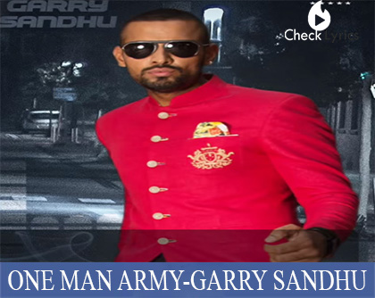 One Man Army | Garry Sandhu