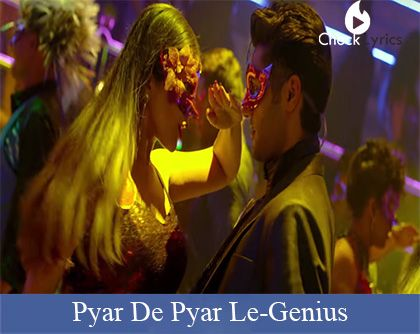 Pyar De Pyar Le Lyrics