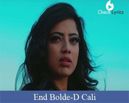 End Bolde | D Cali