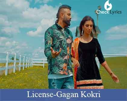 License Lyrics | Gagan Kokri