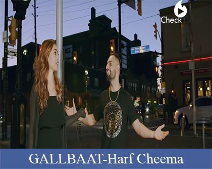 GALLBAAT Lyrics | Harf Cheema