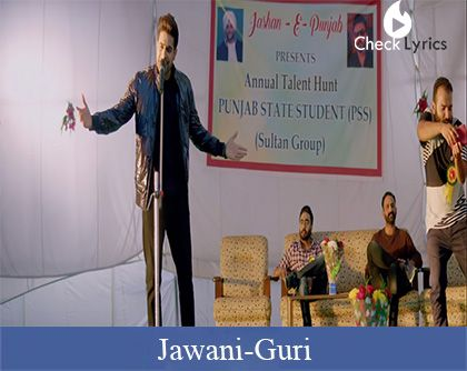 Jawani Lyrics | Guri