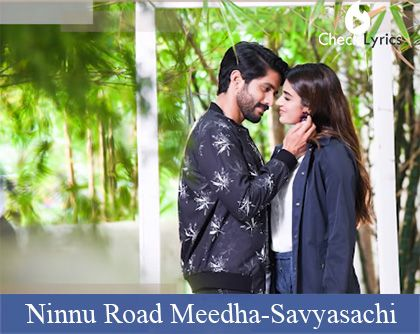Ninnu Road Meedha Song Lyrics