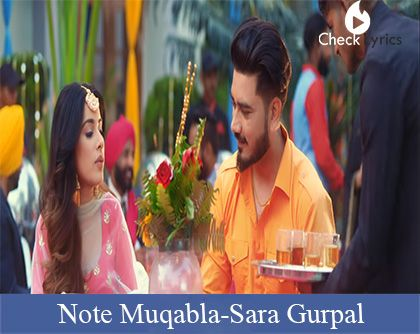 Note Muqabla Lyrics | Goldy Desi Crew