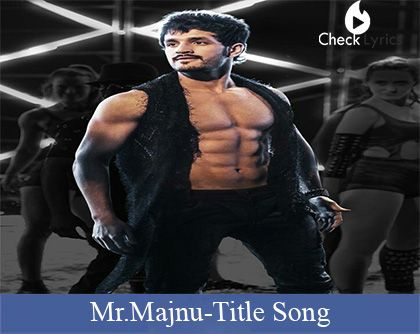 Mr. Majnu Song Lyrics