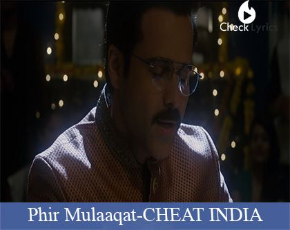 Phir Mulaaqat Lyrics