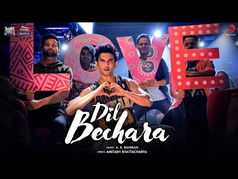Dil Bechara Title Song Lyrics | Sushant Singh Rajput